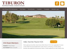 Tiburon Home Owners Association